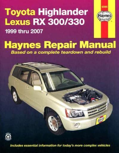 harrier lexus 2007 toyota highlander kluger lexus rx300 rx330 harrier 1999