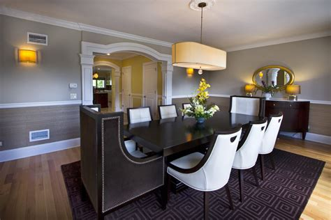 chair rail in dining room extraordinary chair rail ideas decorating ideas images in