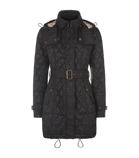 Burberry Quilt by Burberry Finsbridge Quilted Coat In Black Lyst
