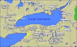 lake ontario canada map toronto lake ontario
