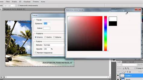 cornice photoshop photoshop cs5 tutorial cornice trasparente ita