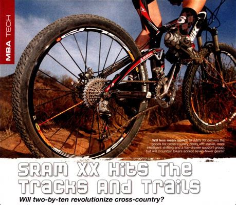 Tech Mba Reviews by Sram Introduces New 2x10 Website Sram2x10 Mountain