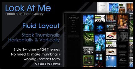themeforest koncept look at me themeforest portfolio design photo html