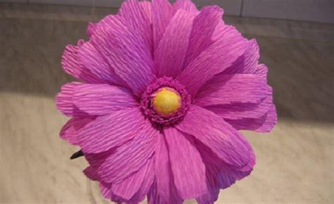 fiori di carta crespa per bambini decorazioni pasquali per la casa fiori di carta crespa