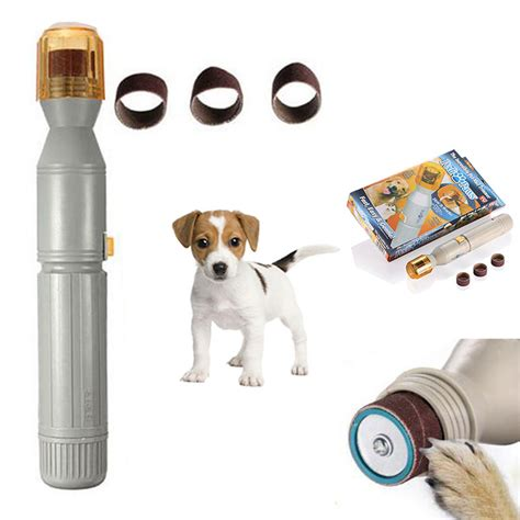 Electric Pets new electric pedi paws cat claw care pet nail trimmer grinder clipper cutter