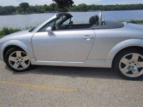 audi tt transmission buy used 2001 audi tt quattro roadster convertible 225