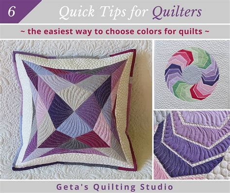 Choosing Quilt Colors by The Easiest Way To Choose Colors For Your Quilts Geta S