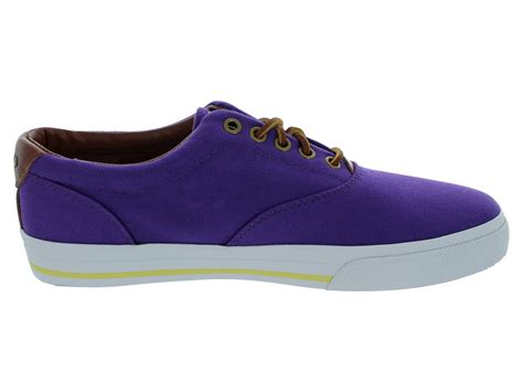 polo ralph big vaughn canvas shoes lilac ebay