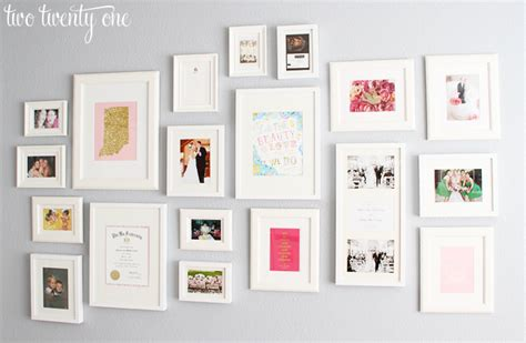 wall frame ideas home office gallery wall decorating ideas two twenty one