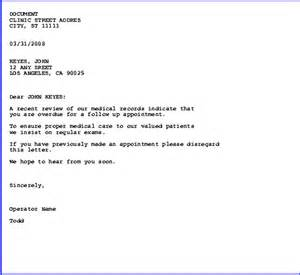 Dental Recall Letter Template Sample Recall Letters