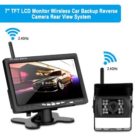 car rear view wireless 7 quot tft lcd car rear view backup kit wireless