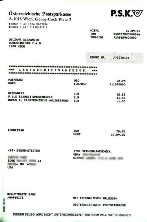Freiberufler Rechnung In Die Usa Aoe Bargeld Oesterreich In Die Usa Schicken