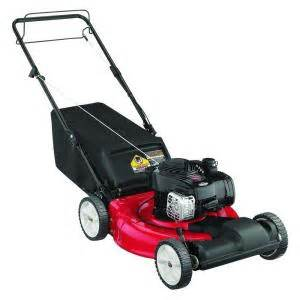 home depot lawn mowers yard machines 21 in 140cc ohv briggs stratton self