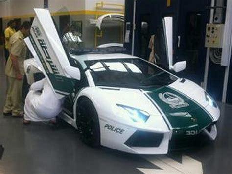Lamborghini Cop Dubai Take Delivery Of A Lamborghini Aventador