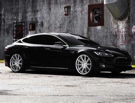 Vossen Tesla Tesla Model S Vossen Vvs Cv4 Silver Polished