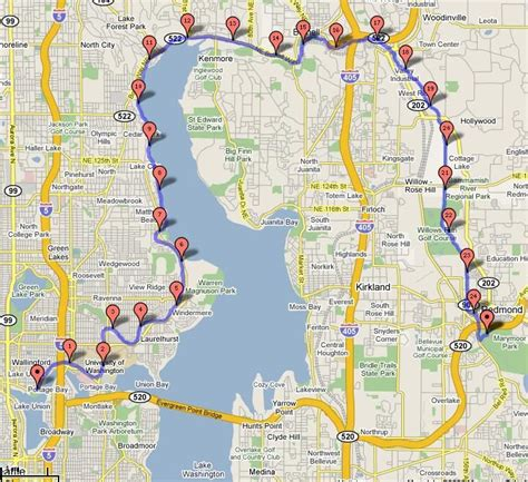 seattle map my run 17 best images about seattle my favorite city on