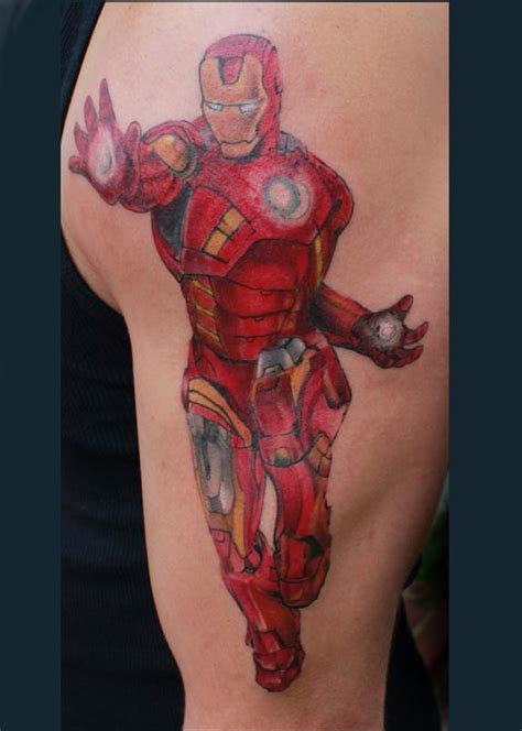 iron man by steve phipps tattoos
