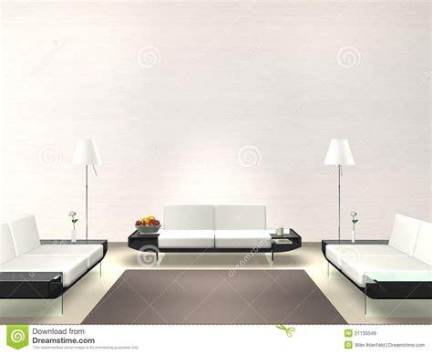 Home Interior Frames sala de estar moderna com parede branca ilustra 231 227 o stock