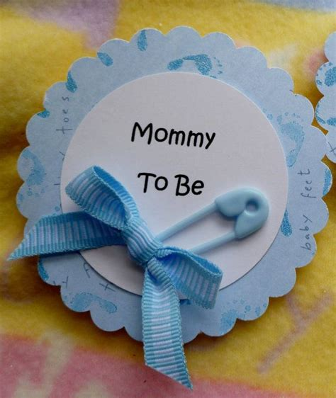 How To Make Pins For Baby Shower by Diy Pins For To Be Baby Shower Baby Shower Corsage