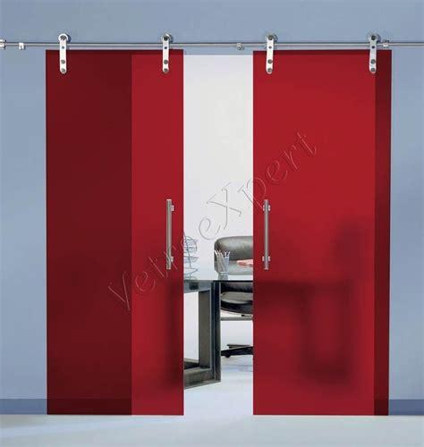 porte divisorie scorrevoli in vetro porte scorrevoli in vetro stratifica rosso opale roma