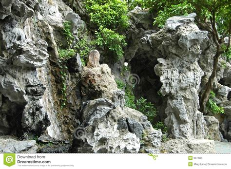 China Garden Rock Chinese Rock Garden Stock Image Image Of Eastern