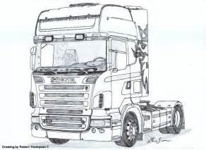 Robert Thompson Truck Drawings