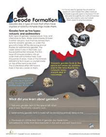 geode formation worksheet education com