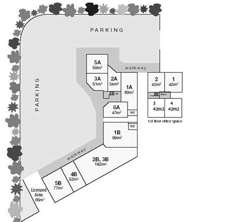 shopping centre floor plan bonney place shopping centre 318 junction rd clayfield