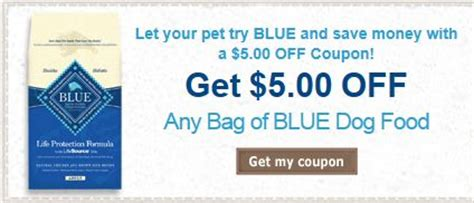 dog food coupons ontario blue dog food details