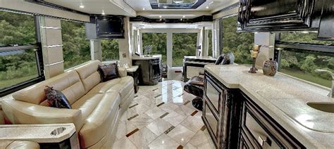 Luxury RVs and Motorhomes from Outlaw Coach Prevost Motor HomesOutlaw Coaches Luxury RVs for