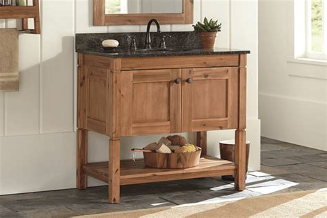 Rustic Modern Bathroom Vanities by Shop Bathroom Vanities Vanity Cabinets At The Home Depot