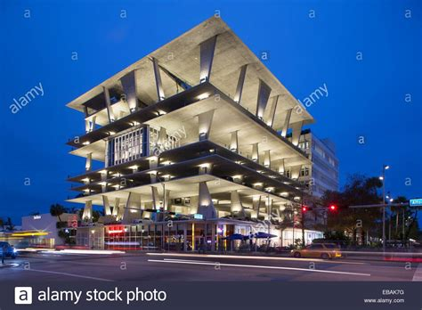 Miami Garage parking garage at 1111 lincoln road miami miami florida stock photo royalty free image