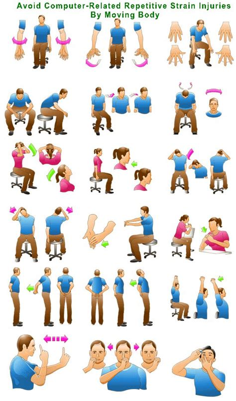The Office Breaks Back by 11 Best Office Desk Exercises Images On