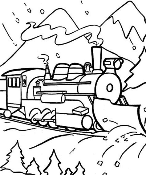 polar express coloring pages pdf 39 best train coloring sheets images on pinterest train