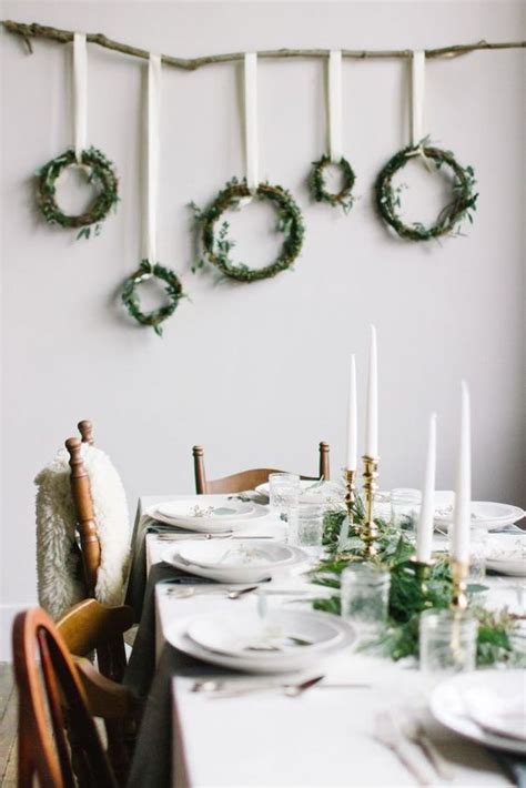 contemporary setting modern christmas table setting ideas christmas celebrations