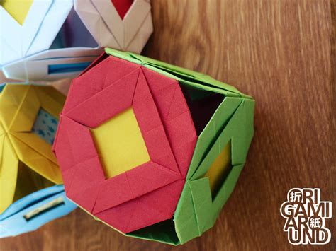 Paper Cubes Origami - origami cubes 002 by origamiaround on deviantart