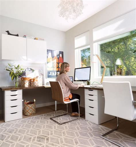 Bookcases At Ikea Home Office Dream Home Office Modern Desc Bankers Chair