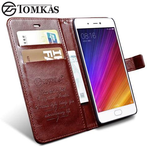 Pouch Leather Official Logo Xiaomi Mi5s original tomkas xiaomi mi 5s mi5s cases coque luxury pu leather wallet protection flip