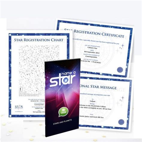 name a star downloadable gift set star listings