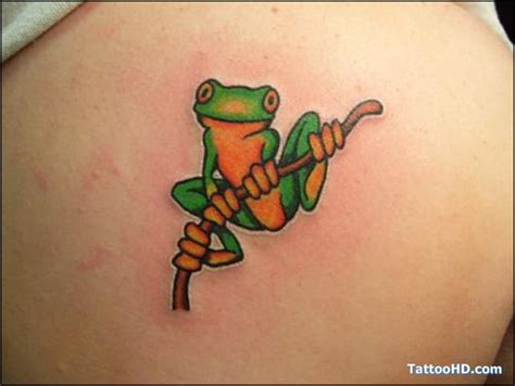 cute small frog tattoos 16 frog tattoos