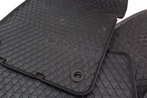 All Weather Rubber Floor Mats by Rubber All Weather Floor Mats 06 10 Vw Passat B6 Genuine