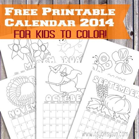 printable calendar for kids 2017 free printable calendar