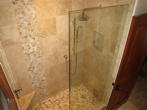 Travertine Bathroom Tile Ideas by Shower Tile Designs Travertine Bathrooms Photo 6
