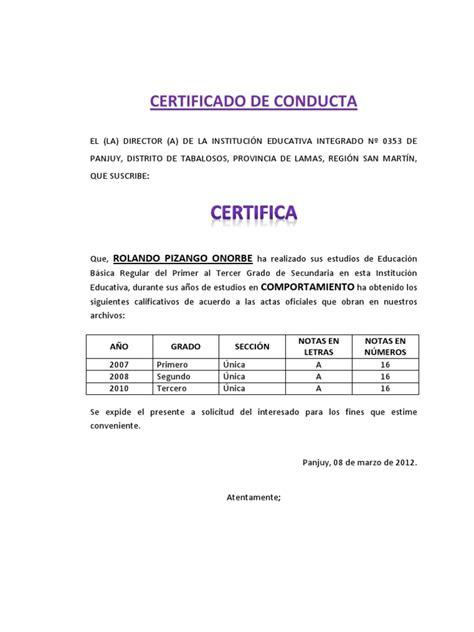 sacar turno para precentar el sartificado escolar por anses certificado de conducta