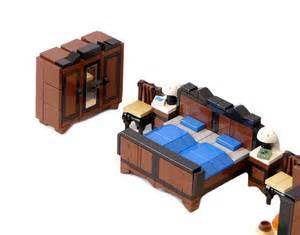 Build A Bedroom Set Lego Furniture For Your Lego House All About The Bricks