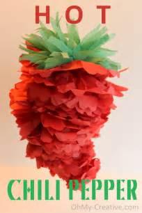 cinco de mayo mexican chili pepper pom