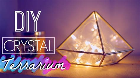 crystal bedroom decor diy room decor crystal terrarium tumblr and urban outfitters inspired diy