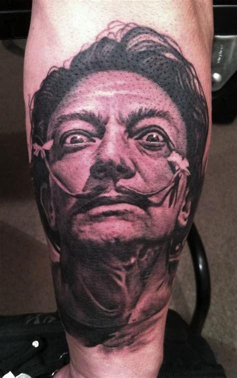bob tyrrell tattoo salvador dali by bob tyrrell tattoos