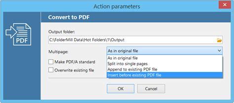 very compress pdf foldermill 4 4 merge split compress pdf in batches