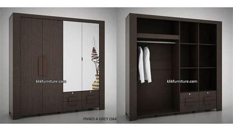 Hawaii Pro Design Lemari Pakaian 4 Pintu Minimalis lemari 4 pintu pnwd 4 prodesign harga termurah